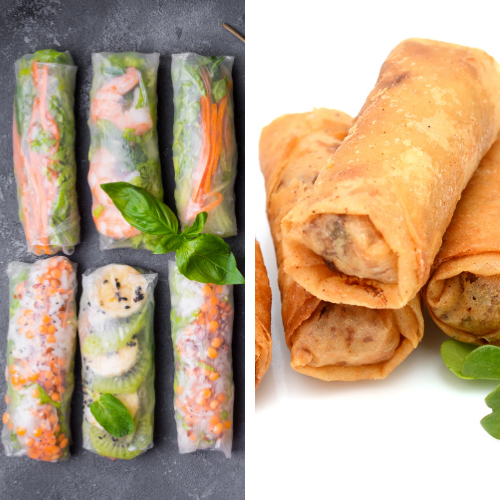 What is the Difference Between a Spring Roll and an Egg Roll?